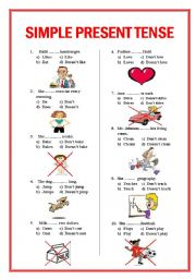 Present Simple Tense Test http://www.eslprintables.com/grammar_worksheets/verbs/verb_tenses/present_tense/SIMPLE_PRESENT_TENSE_TEST_ju_234931/