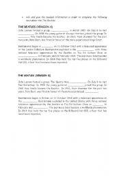 English worksheet: The Beatles