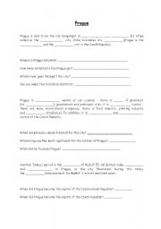 English Worksheet: Prague