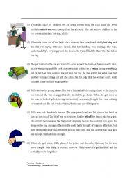 English Worksheets: Readingcomprehension