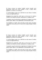 English Worksheets: Sentence Scramble