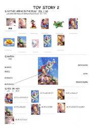 English Worksheet: movie: toy story 2