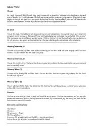 English Worksheet: Crime and Punishment role-play