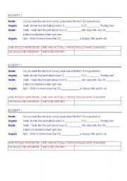 English Worksheet: UNREAL CONDITIONAL