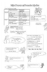 ... esl grammar lesson plans worksheets exercises teach parts of speech