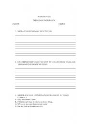 English Worksheets: workshop film the fast and the furious 4
