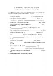 English Worksheets: worksheet