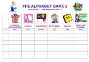 The alphabet game 2
