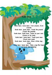 Koala Bear... Song!