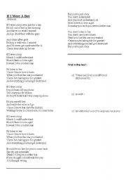Songteksten.net - Songtekst: Beyonce - If I Were A Boy