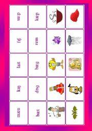 Phonetic symbols - memory game