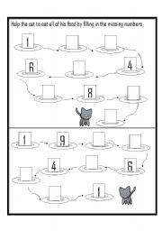 worksheet: Counting in 10´s