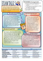English Worksheet: Speaking Preparation 5. Friendship.
