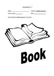 English Worksheets: Book