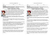 English Worksheets: Robert Pattinson Stinks!
