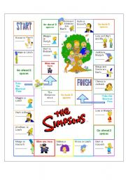 The Simpsons Family Boardgame