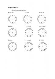 English worksheets: the Time worksheets, page 145