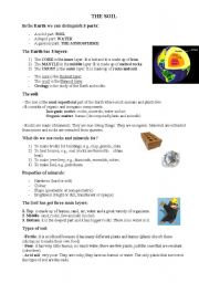 English Worksheet: the soil