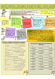 English Worksheet: COLLOCATION 23 - COACH, EDUCATE, INSTRUCT, LEARN, LECTURE,TEACH, TRAIN