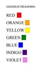 Poets Seven Colors Of The Rainbow