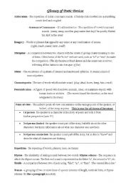 Worksheet Poetic Devices Worksheet poetic devices worksheet 3 answers intrepidpath english worksheets glossary of teaching other writing