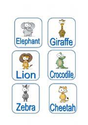 English Worksheets: Animals (3/3)