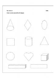 math worksheet : english teaching worksheets 3d shapes : 2d And 3d Shapes Worksheets For Kindergarten