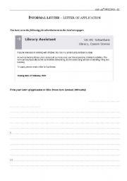 English Worksheets: Exam samples - Writing 8