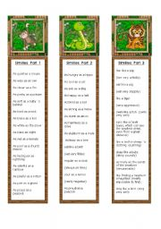 English Worksheets: Similes Bookmarks