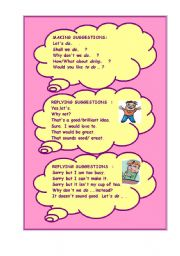 English Worksheets: WHAT SHALL WE DO THIS WEEKEND? (A SAMPLE DIALOGUE INCLUDED)   2 -
