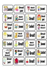 printable reward stickers