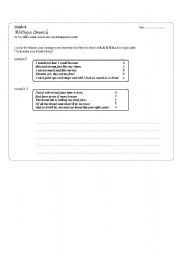 English Worksheet: Class Activity: Writing your own limerick