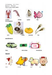 English Worksheets: goods  where is it from