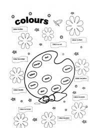 Colours Workheet N239547