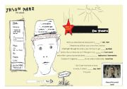English Worksheet: Song - I´m yours by Jason Mraz