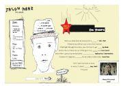 English Worksheets: Song - I�m yours by Jason Mraz