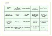 English Worksheets: Ilnesses