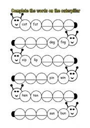 math worksheet : english worksheets cvc worksheets : Kindergarten Cvc Worksheets