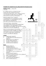 English Worksheet: Poem - Walking Away C Day Lewis