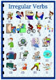 English exercises Irregular Verbs