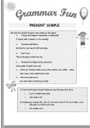 Printables Fun Grammar Worksheets grammar fun 1 black and white
