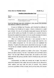 Worksheets Grade 5 English Worksheets english worksheets grade 5 vocab rc test worksheet test