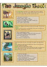The Jungle Book (2 pages)