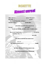 English Worksheets: ROXETTE: