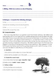 English Worksheets: various exercises