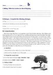 English Worksheets: various exercises