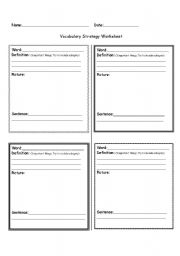Spelling And Definition Blank Worksheet Templates likewise Worksheet ...
