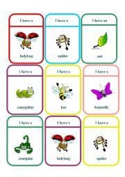 English Worksheets: Speaking Card Game