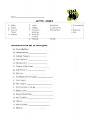Printables Genre Worksheet english teaching worksheets movie genres worksheet