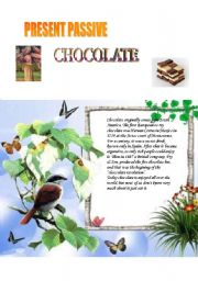 English Worksheets: chocolate